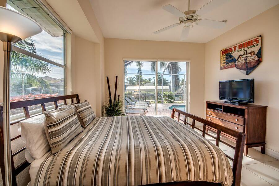 Zweites Schlafzimmer Ferienhaus Cape Coral Tao