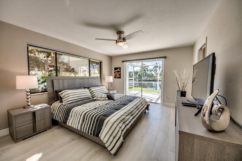 Schlafzimmer 2 in Ferienhaus Cape Coral