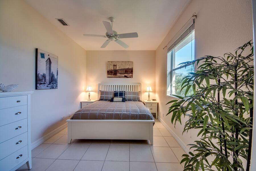 drittes Schlafzimmer Ferienhaus Villa Tao mieten