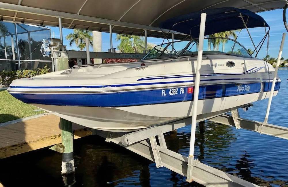 Boot zum Ferienhaus in Cape Coral mieten mit 200PS