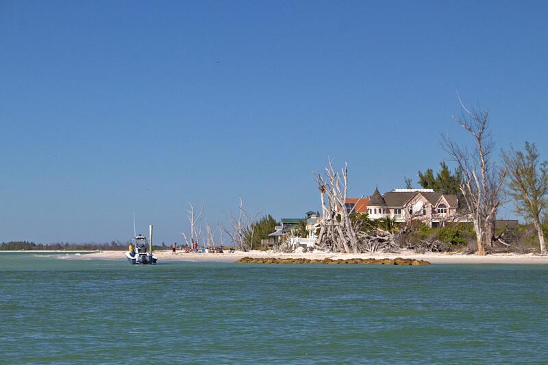 Insel Cabbage Key mit Restaurant Tagesausflug von Cape Coral aus