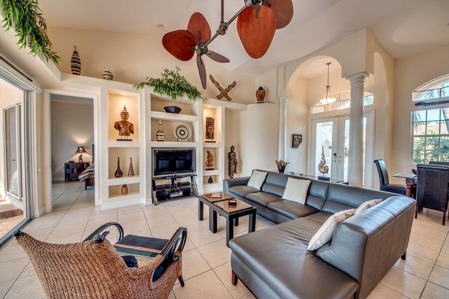 Villa Tao mit Wohnzimmer mieten